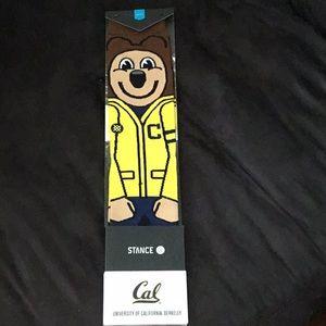 Cal bears OSKI socks NWT